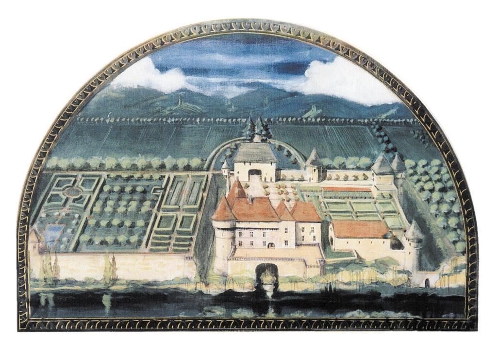 Château de Losse gravure