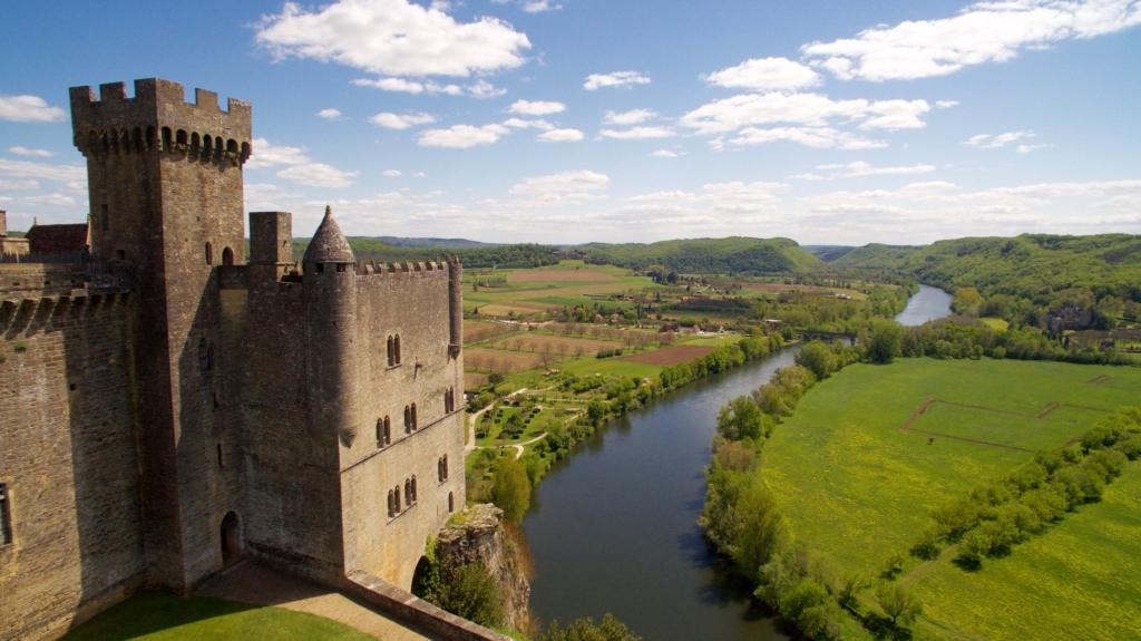 Château de Beynac vue Donjon