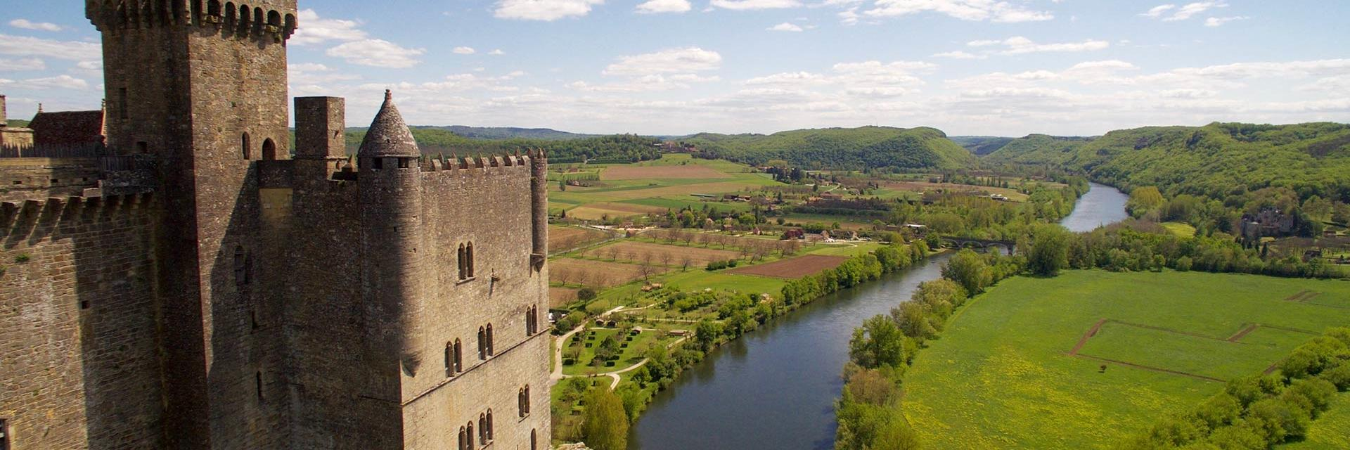 Château de Beynac vue du donjon