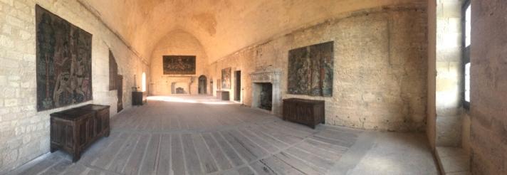 Château de Beynac salle des états