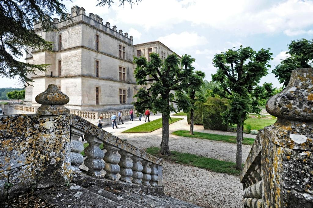 Château de Bourdeilles escalier