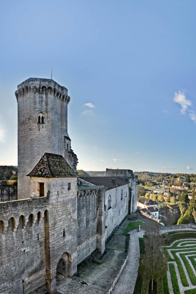 Château de Bourdeilles donjon