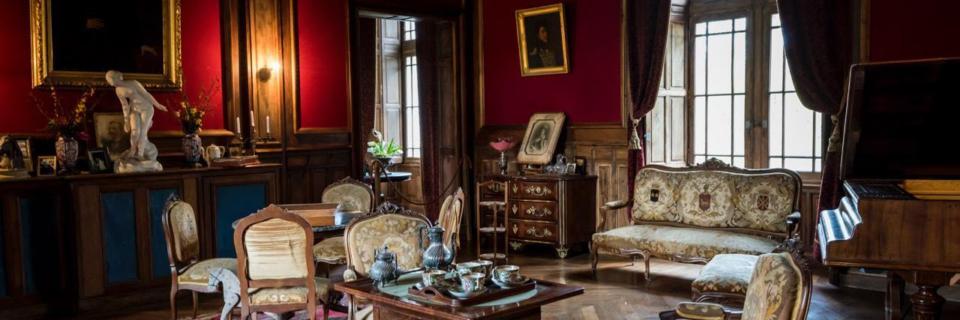 Château de Bridoire intérieur