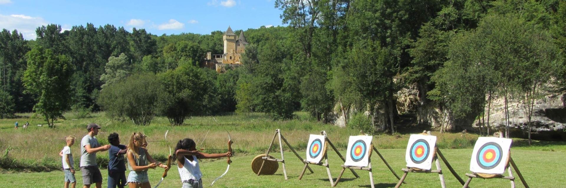 Château de Commarque tir à l'arc