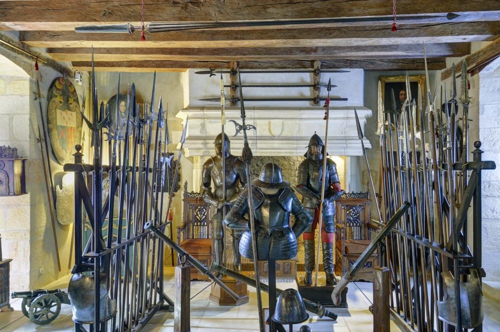 Château de Fénelon cabinet armes