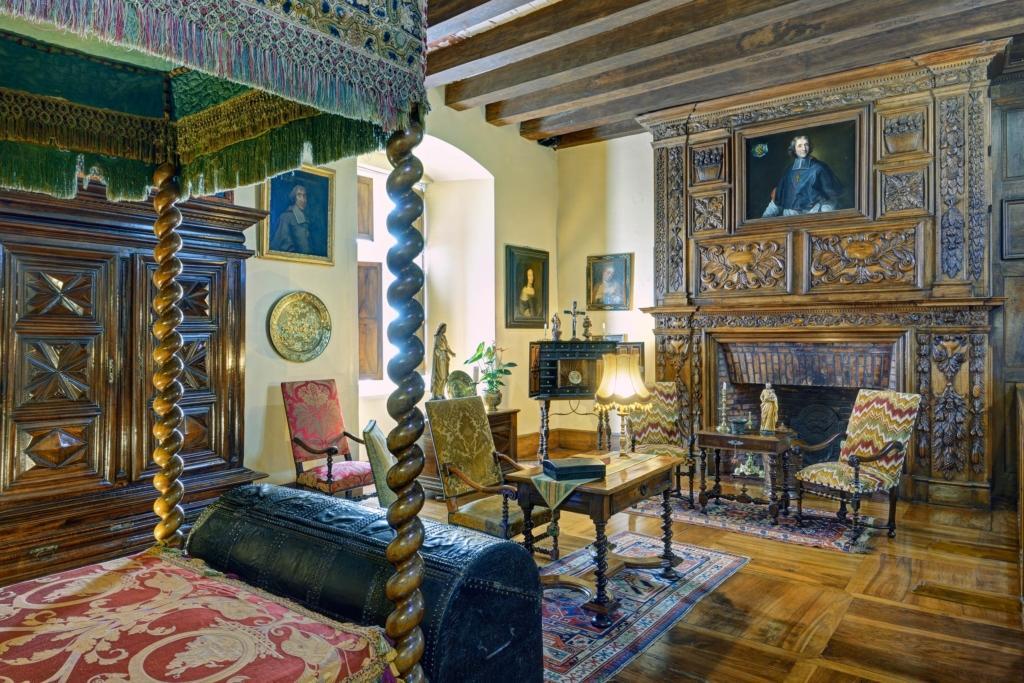 Château de Fénelon chambre
