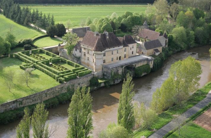 Château de Losse charmille