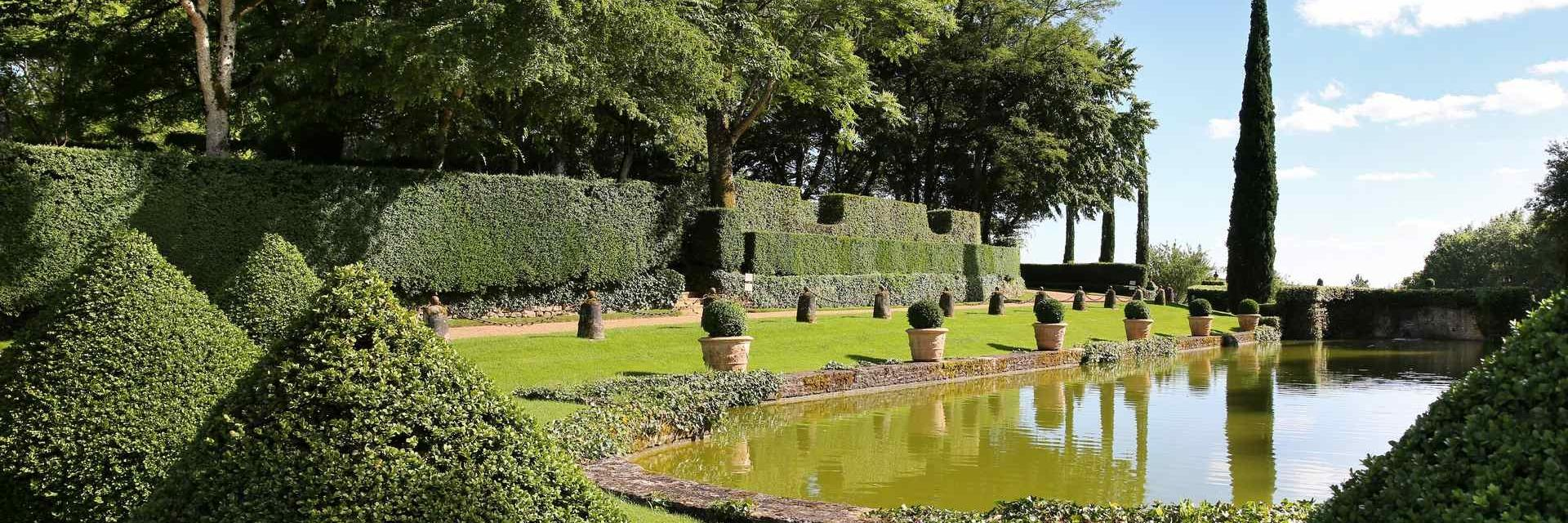 miroir deau deyrignac jrome morel - Jardin D Eyrignac