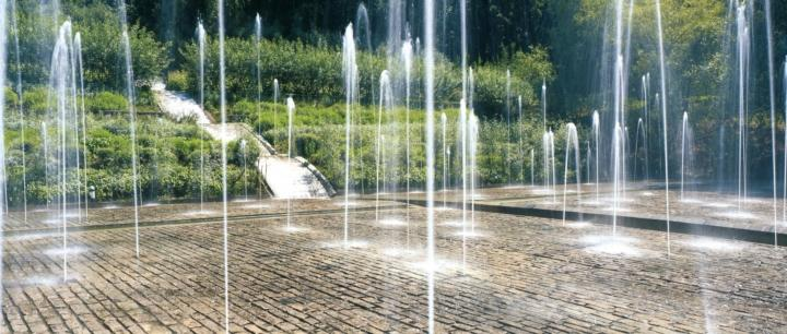 Jardins de l'Imaginaire jets d'eau
