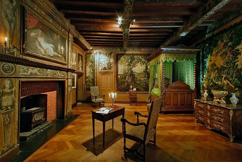 Château de Puymartin salle d'honneur