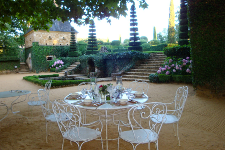 Garden party Eyrignac